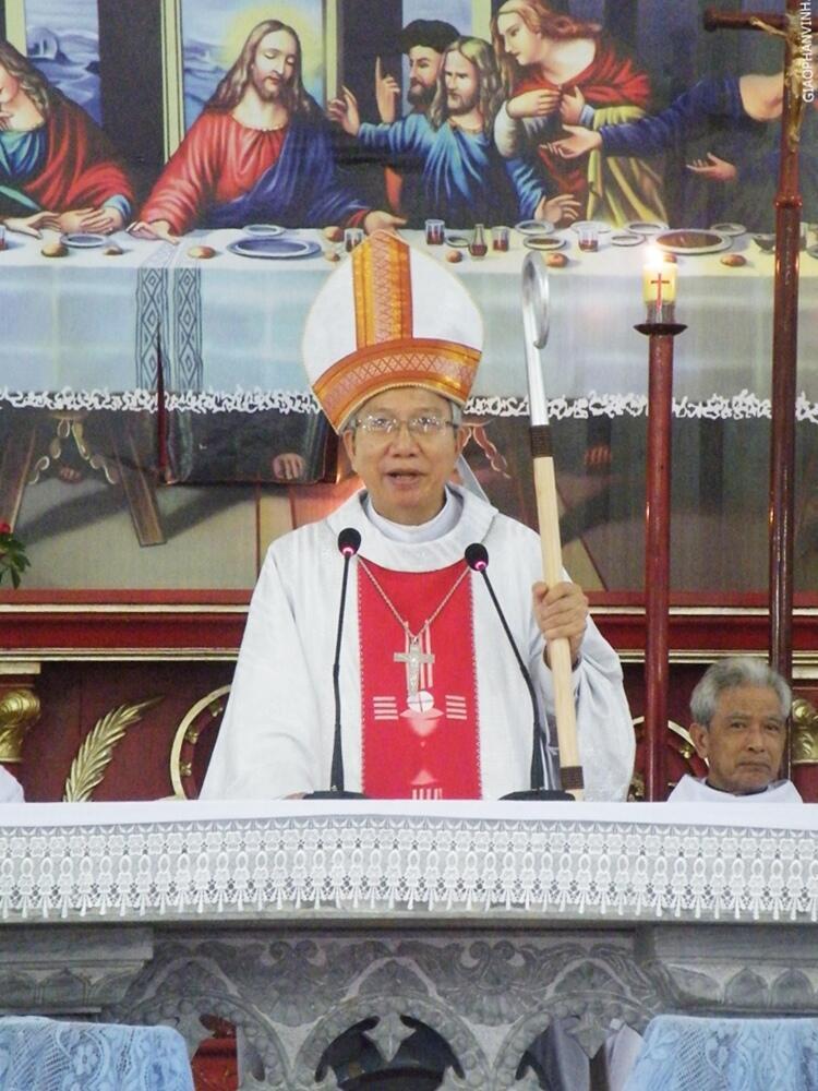 Đức Cha Nguyễn Thái Hợp.