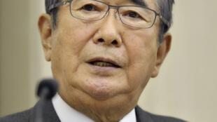 石原慎太郎25日宣布辞去东京都知事,准备组建新党。