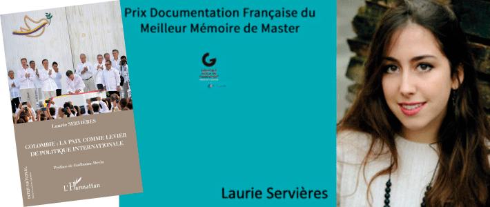 Portada del del libro de Laurie Servières