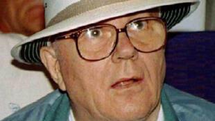 John Demjanjuk, ex-garde de camp nazi.
