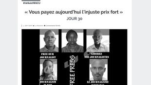 Page du site du média burundais Iwacu.