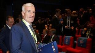 Didier Deschamps, selecionador da França