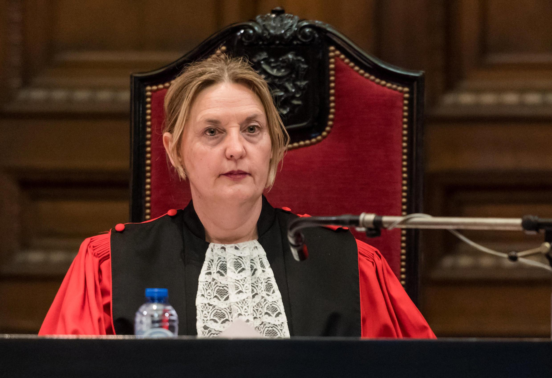 Судья Лоранс Масар, председатель судебной коллегии на процессе над Мехди Неммушем