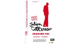 """Affiche du spectacle """"Imagine-toi"""" de Julien Cottereau."""