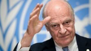 Đặc phái viên Liên Hiệp Quốc về Syria, ông Staffan de Mistura.