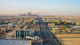Vista de Riade, na Arábia Saudita