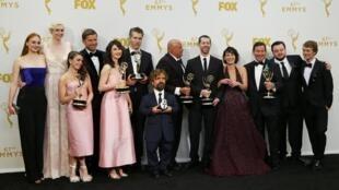 Game of Thrones venceu como melhor série dramática do Emmy 2015