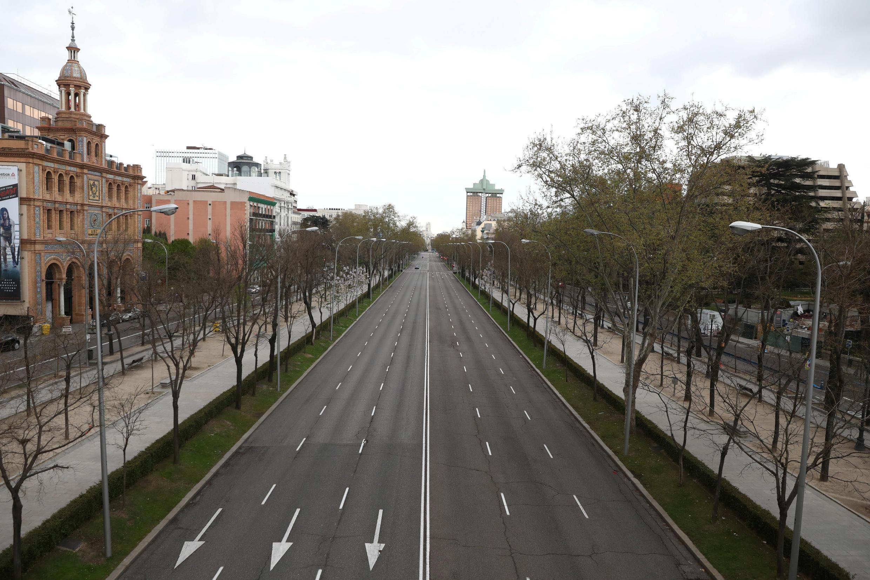 CORONAVIRUS-ESPAGNE- MADRID