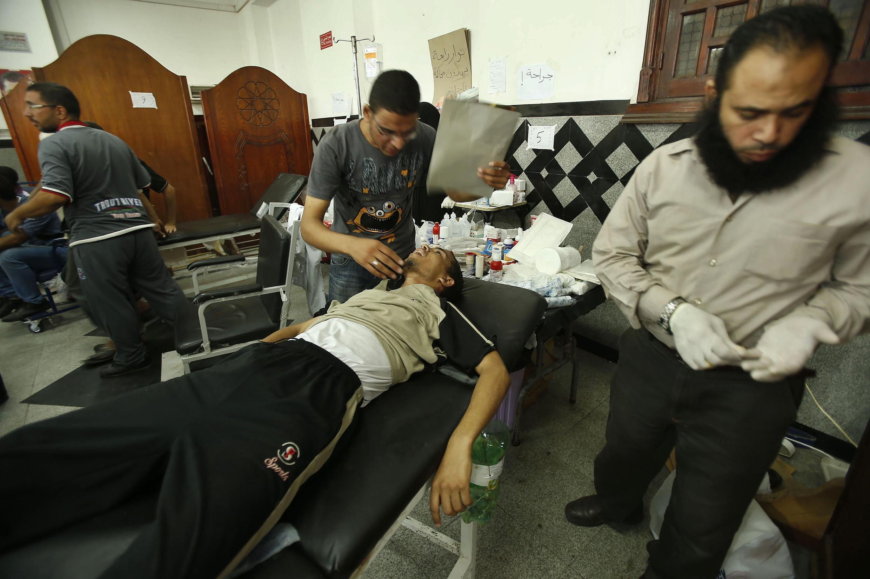 Au moins 300 pro-Morsi ont été blessés ce matin. Les médecins craignent que le bilan humain ne s'alourdisse dans la journée.