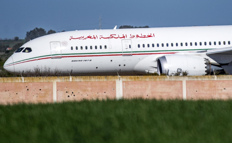 Un avion de la compagnie Royal Air Maroc (RAM).