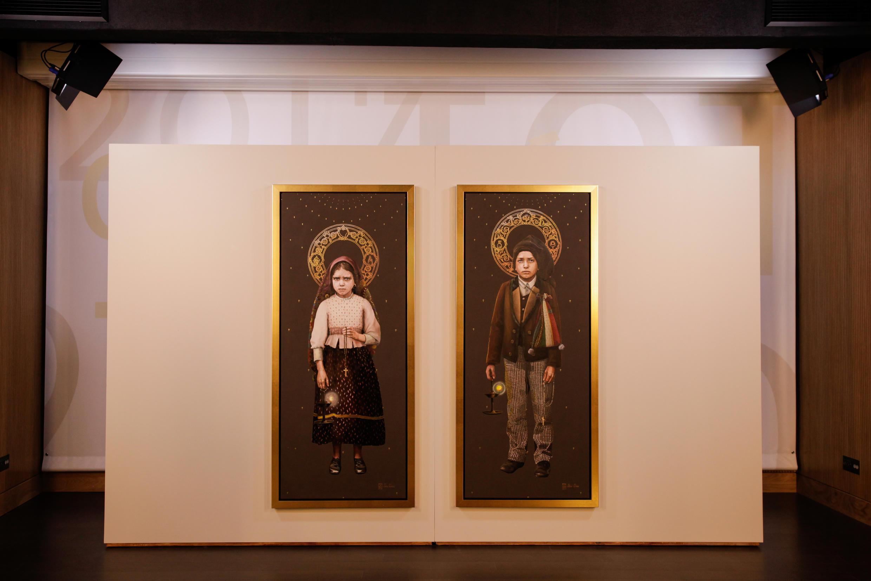 Apresentação das imagens dos beatos Francisco e Jacinta Marto