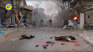 Dakarun Syria na ci gaba da yakar 'Yan tawaye a yankin Aleppo