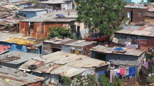 Le «township» de Soweto.