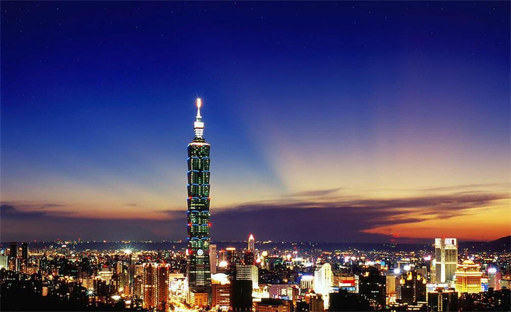 台北101大廈夜景