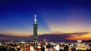 台北101大厦夜景