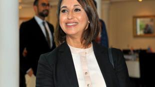 Nabila Mounib, l'une des figures de la Fédération de la gauche démocratique.