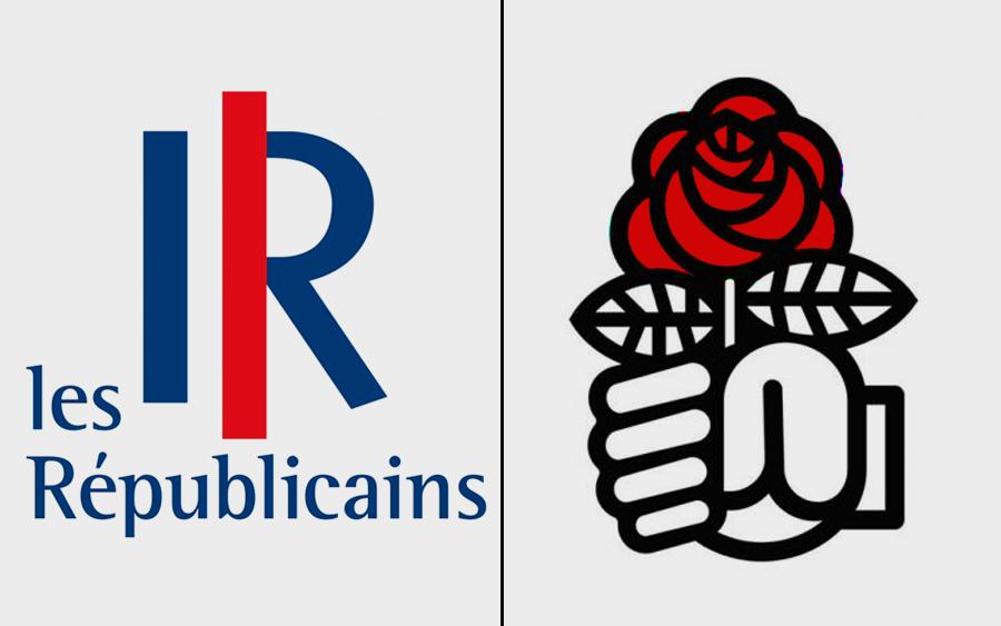 نشانه های حزب سوسیالیست و جمهوریخواهان فرانسه