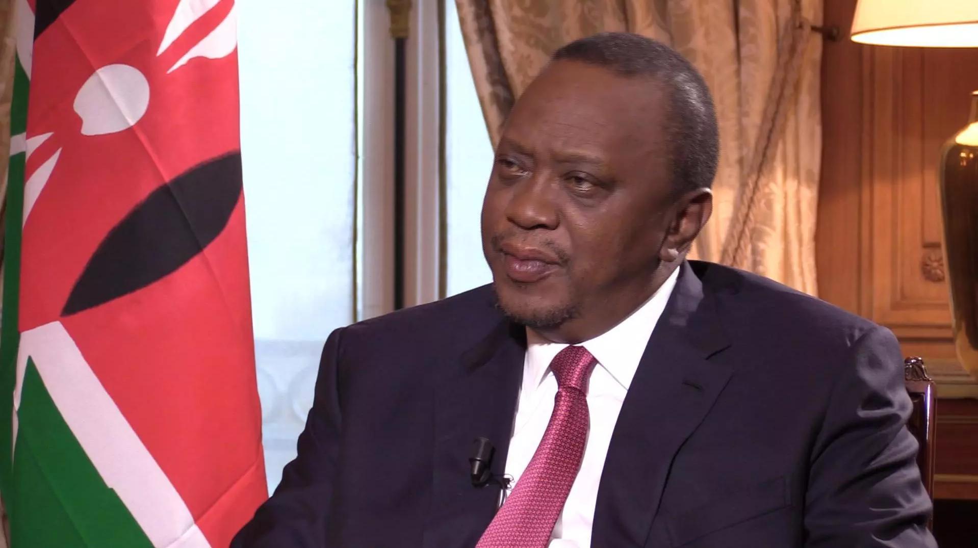 2020-10-01 kenya president uhuru kenyatta interview france 24 screenshot