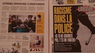 Primeiras  páginas de diários franceses  30 07 2020