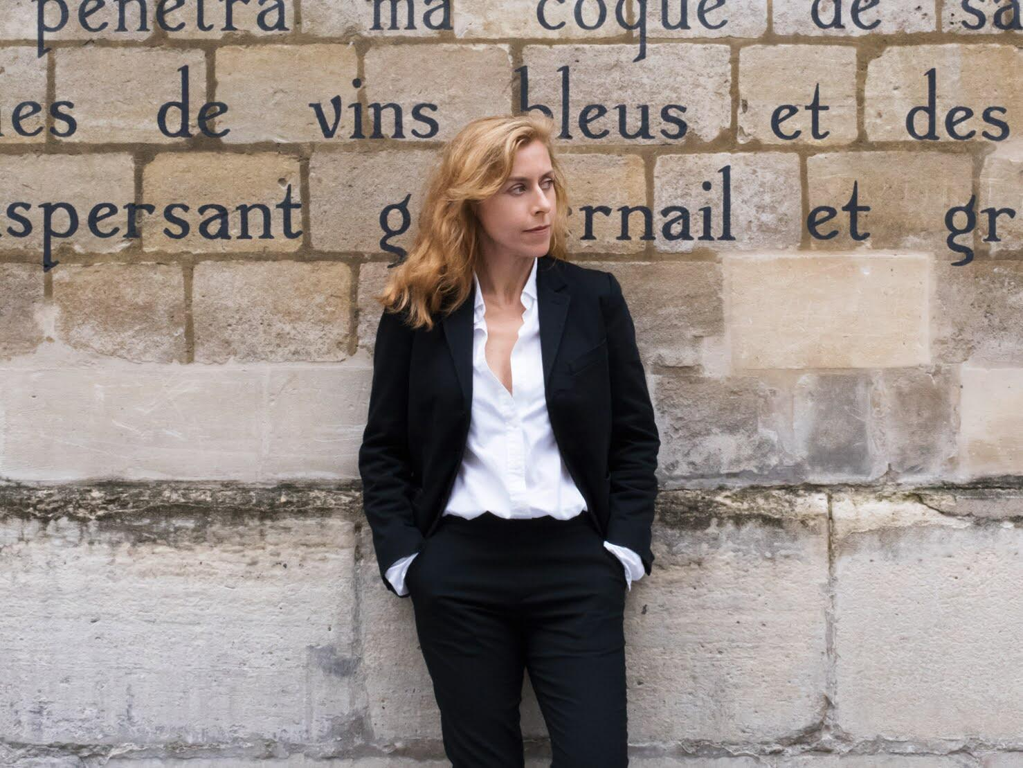 Journaist Agnes Poirier, who explores the history and significance of the Notre Dame cathedral in her new book, Notre Dame: The soul of France.