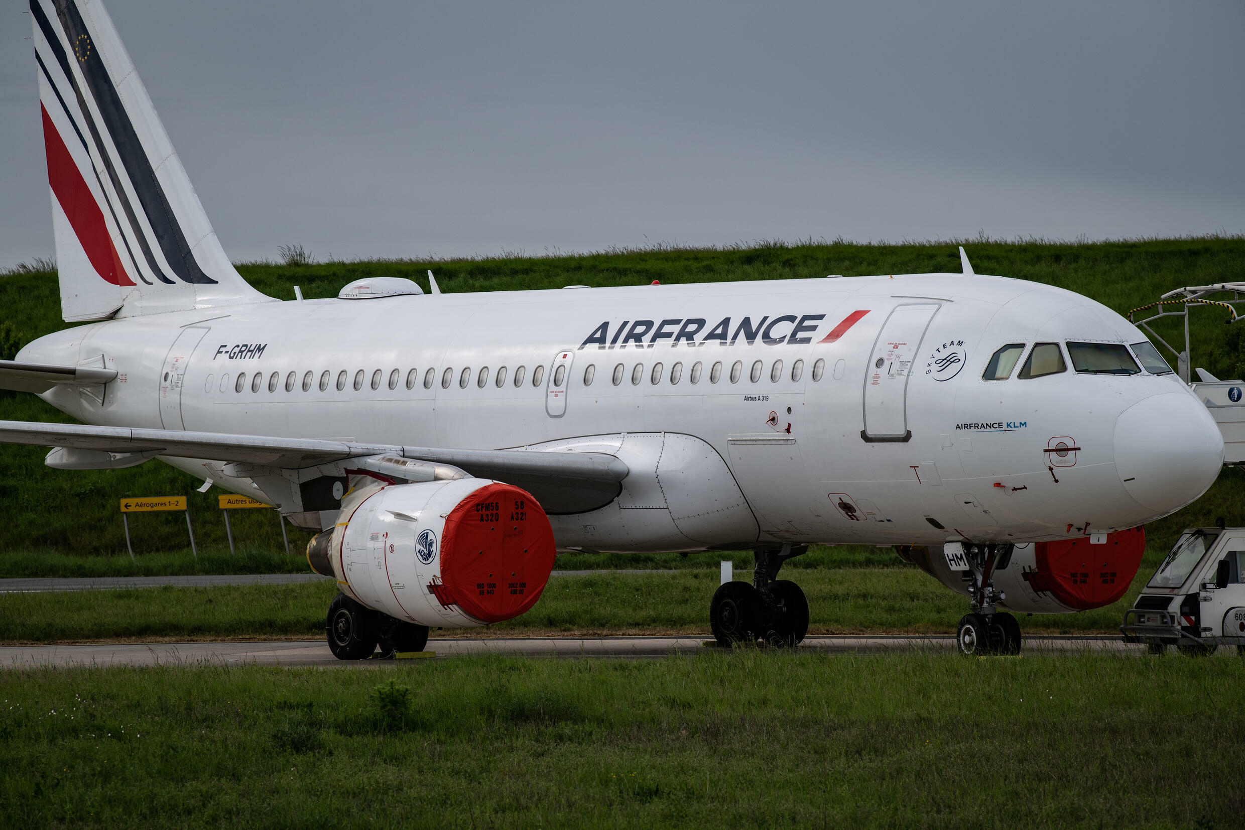 Air France, like most airlines, took most of its planes out of service at their height of the Covid-19 pandemic and parked them on the tarmac