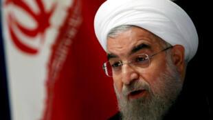 Tổng thống Iran Hassan Rohani tại LHQ. Ảnh ngày 22/09/2016.