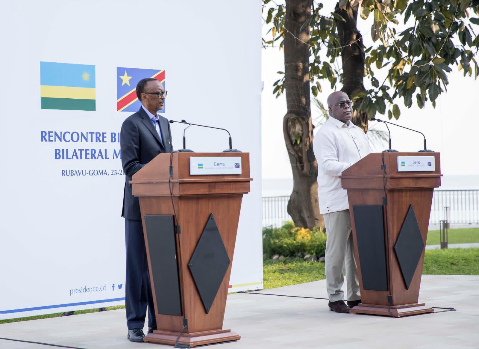 Paul Kagame, Felix Tshisekedi