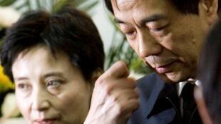 លោកស្រី Gu Kailai   ភរិយាអតីតមេដឹកនាំកំពូលចិនឈ្មោះ Bo Xilai 