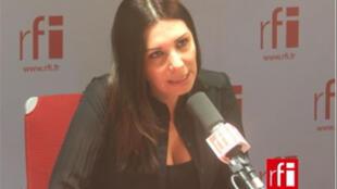 Randa Kassis, fondatrice et présidente du Mouvement de la société pluraliste.