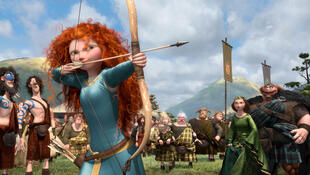 «Rebelle», le nouveau film d'animation des studios Pixar et Disney.