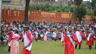 Madagascar, le 21 février 2021: les Tananariviens sont venus nombreux pour assister aux concours de «hiragasy», un art ancestral qui allie chants, danses, musiques, acrobaties et discours.