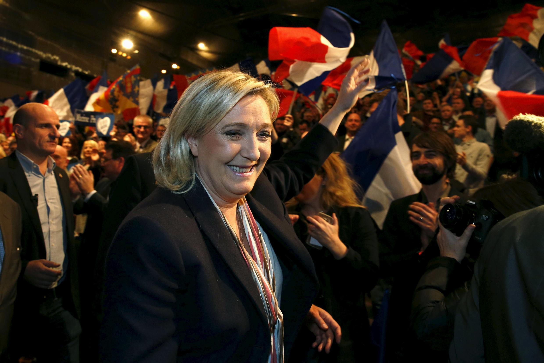 Марин Ле Пен - первый номер в предвыборном списке Нацфронта в регионе Нор-Па-де-Кале-Пикардия