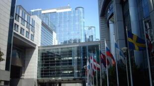 Espace Léopold, siège du Parlement européen à Bruxelles.