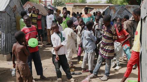 Wasu Almajirai a garin Maiduguri dake Najeriya. (An yi amfani da wannan hoto domin misali ne kawai)