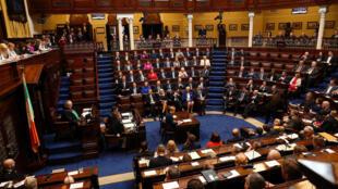 Le Parlement irlandais est au cœur d'un scandale.