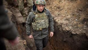 Ukrainian President Volodymyr Zelensky has ambitions for the former Soviet state to join the NATO alliance