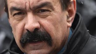 Philippe Martinez, le nouveau patron de la CGT.