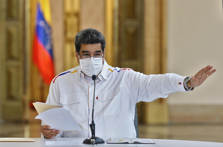 O presidente da Venezuela, Nicolas Maduro, em foto divulgada pelo governo de Caracas.