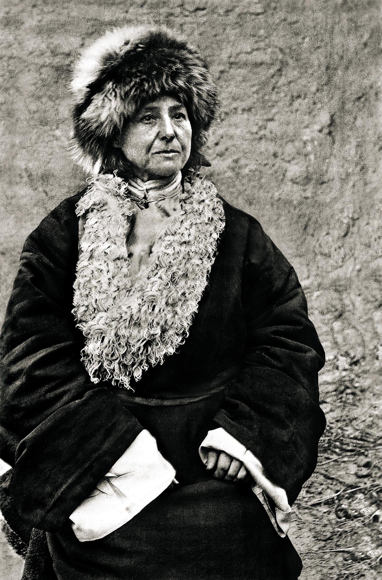 Alexandra David-Neel (1868-1969).