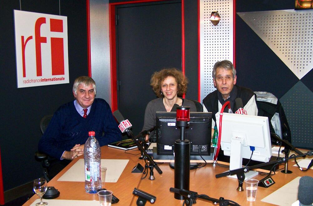 Jean-Philippe Siblet aux côtés de Caroline Lachowsky et Jean-Yves Casgha