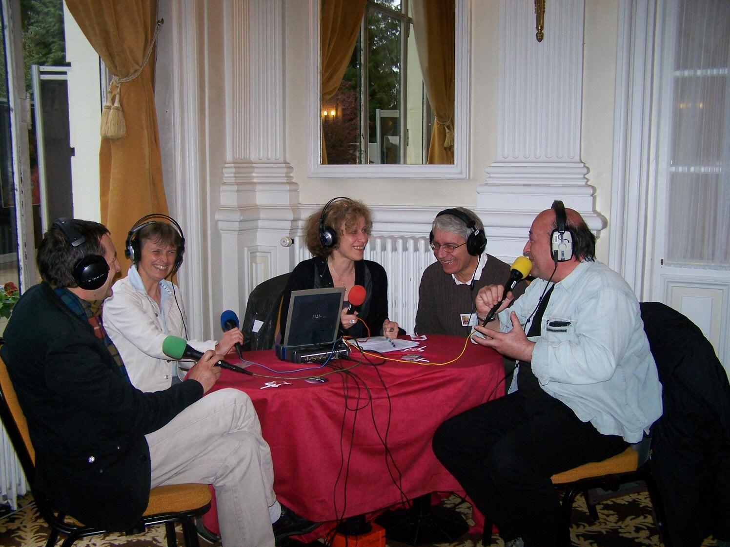 Jean-Marcel Dorioz, Anne Delestrade, Caroline Lachowsky, François Moutou et Pierre-Henri Gouyon