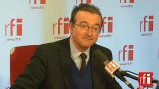 Hervé Mariton, député UMP de la Drôme, délégué général de l'UMP en charge du pôle Projet.