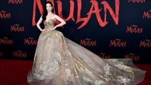 "Yifei Liu attends the premiere Of Disney's ""Mulan"" on March 09, 2020 in Los Angeles, California, but fans will now have to wait until August for the live action remake to hit theaters"