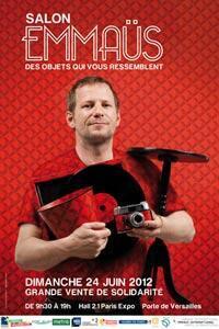 "Afiche del Salón Emaús 2012: ""Objetos a tu medida""."
