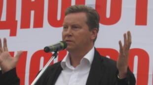 Депутат городского парламента Санкт-Петербурга, лидер фракции «Справедливая Россия» Олег Нилов