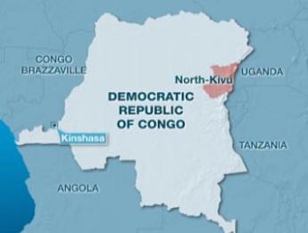 剛果(金)地圖