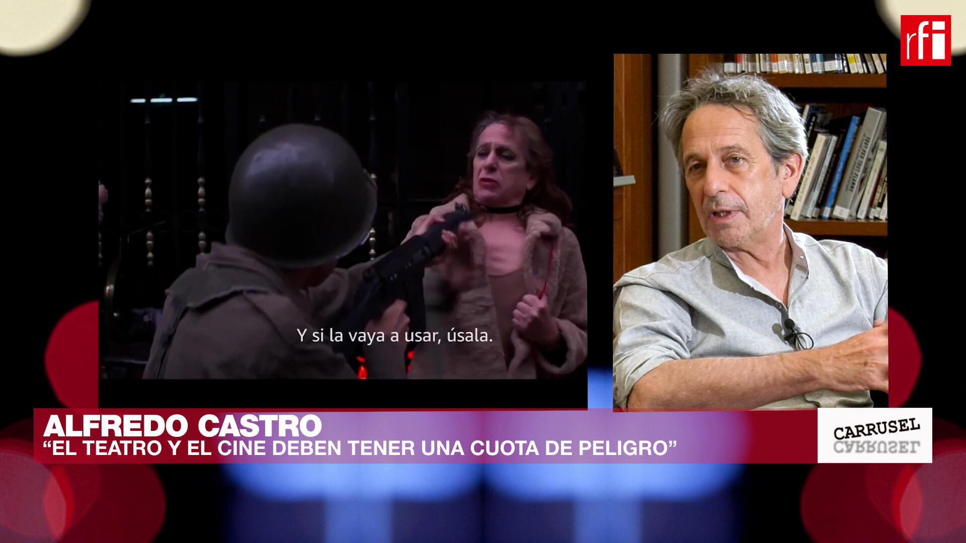 Alfredo Castro Carrusel de las Artes