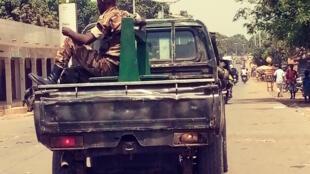 Un militaire à Kindia, Guinée. (Image d'illustration)