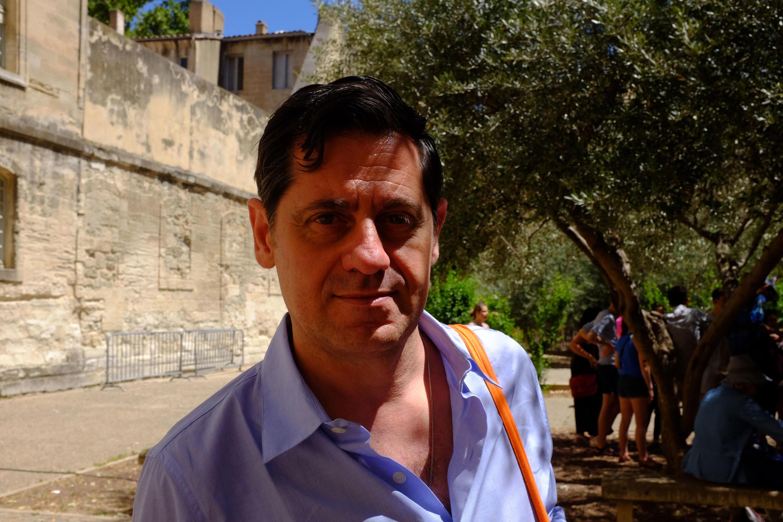Режиссер Одивье Пи был назначен директором Авиньонского фестиваля в сентябре 2013 года.