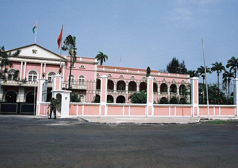 Palácio Presidencial em São Tomé e Príncipe